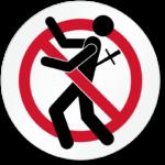 backstabbing sign